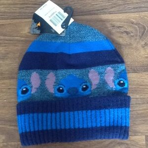 Disney's Stitch blue beanie cap new